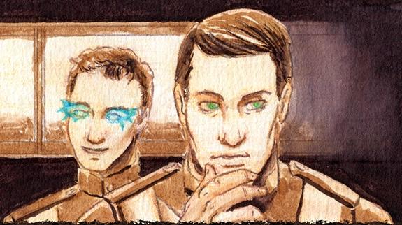 New Martian War Comic Strip